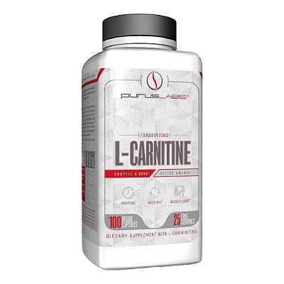 L-Carnitina - 100 cápsulas (25 doses)