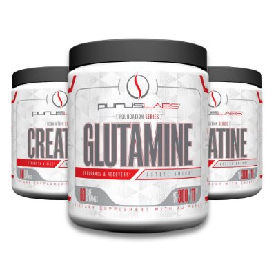 Combo Glutamina 300g + 2 Creatinas monoidratada 300g