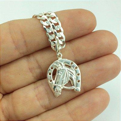 pingente ferradura 5414 - 2,9cm x 1,1cm