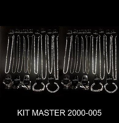 Kit Masculino Master Prata 925 (conteúdo na descrição)