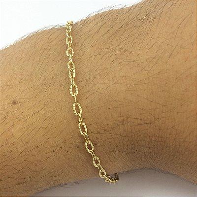 pulseira cadeado 3mm