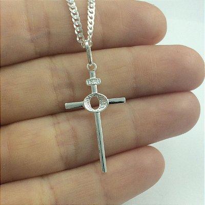 pingente cruz palito 930A 1,70cm x 2,80cm