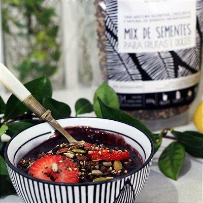 MIX DE SEMENTE - Uma deliciosa granola para frutas