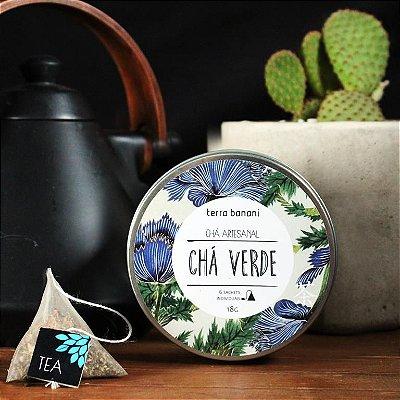 LATA DE CHÁ VERDE - 6 sachês