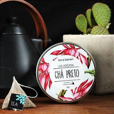 LATA DE CHÁ PRETO - 6 sachês