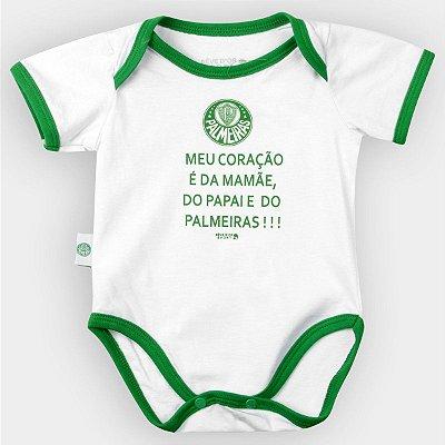 BODY REVEDOR PALMEIRAS MEU CORAÇÃO BRANCO
