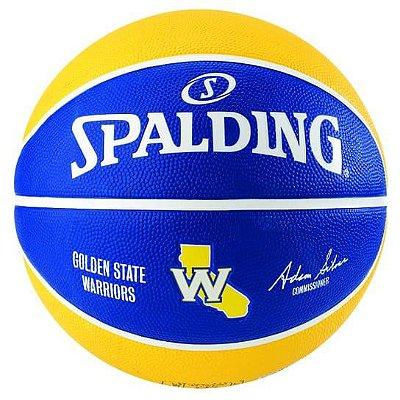 BOLA SPALDING BASQUETE NBA GOLDEN STATE