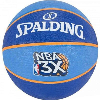 BOLA SPALDING BASQUETE NBA 3X SIZE 7 RUBBER