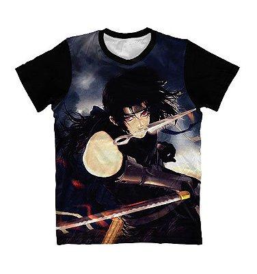 Camiseta Itachi uchiha Luta - Naruto