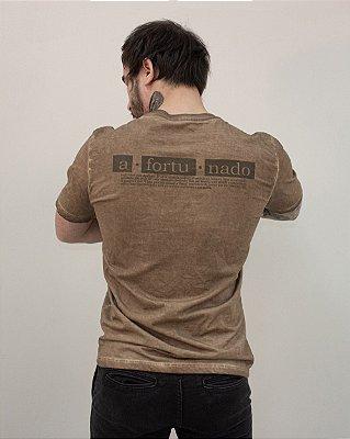 Camiseta Regular Afortunado / Drop III