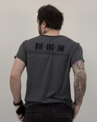 Camiseta Mescla Slim EDC / Drop III