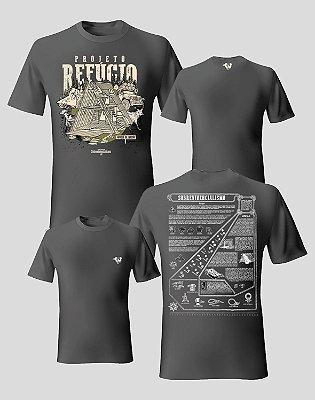 [Kit duas peças] Camisetas Projeto Refúgio