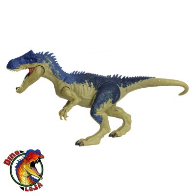 ALLOSAURUS MATTEL DINO RIVALS JURASSIC WORLD BATTLE AT BIG ROCK