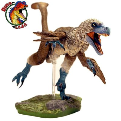 ACHERORAPTOR BEASTS OF THE MESOZOIC FIGURA DE RAPTOR DINOSSAURO ARTICULADO