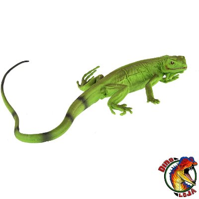 IGUANA FILHOTE INCREDIBLE CREATURES SAFARI LTD. MINIATURA DE ANIMAL SELVAGEM RÉPTIL LAGARTO