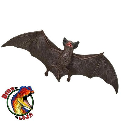MORCEGO-MARROM-DE-PEQUENO-PORTE SAFARI LTD INCREDIBLE CREATURES MINIATURA DE MORCEGO
