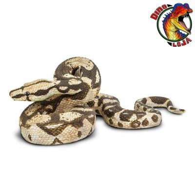 JIBOIA BOA CONSTRICTOR SAFARI LTD INCREDIBLE CREATURES MINIATURA DE COBRA SERPENTE DE BRINQUEDO