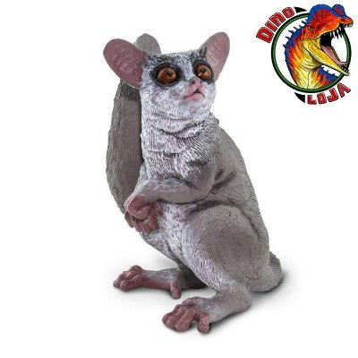 GALAGO SAFARI LTD INCREDIBLE CREATURES MINIATURA DE PRIMATA PROSSÍMIO DE BRINQUEDO