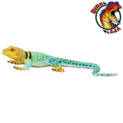 LAGARTO-DE-COLAR SAFARI LTD INCREDIBLE CREATURES RÉPLICA DE LAGARTO RÉPTIL
