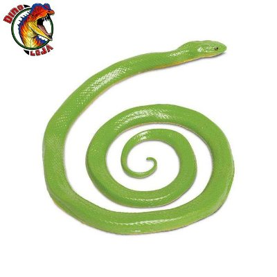 COBRA VERDE ÁSPERA SAFARI LTD INCREDIBLE CREATURES RÉPLICA DE SERPENTE REALISTA