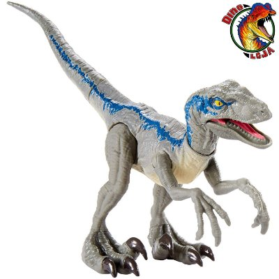 VELOCIRAPTOR BLUE SAVAGE STRIKE JURASSIC WORLD MATTEL ATAQUE SELVAGEM