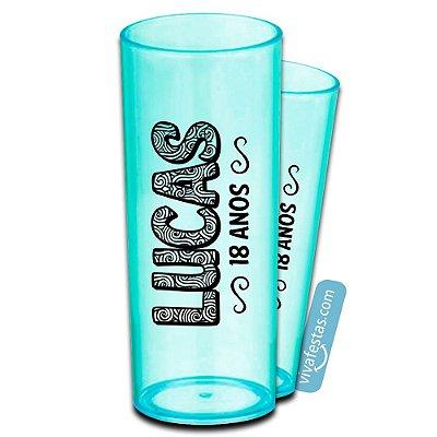 100 Copos Long Drink Personalizados 350ml - Baladas, Bares e Eventos