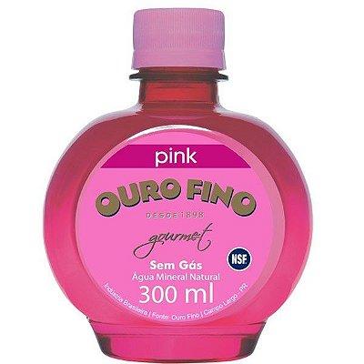 Água Ouro Fino 300ml Pink - Bolinha - Original