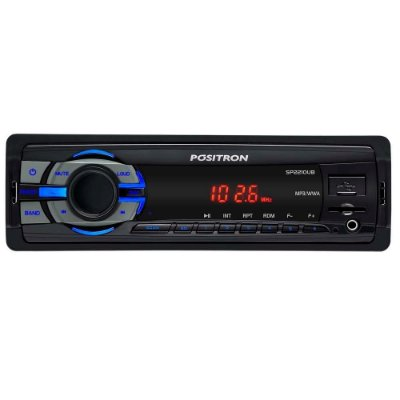 MP3 Player Automotivo Media Receiver Positron SP2210UB USB Leitor de Micro SD Card Aux Frontal