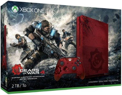 Xbox One S 2TB - Gears of War Limited Edition