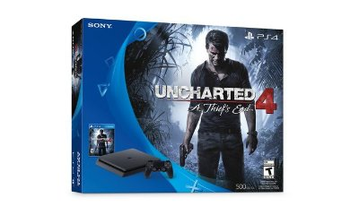 Playstation 4 Slim 500GB - Uncharted 4 Bundle