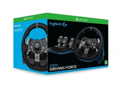 Logitech G920 Driving Force - Xbox One e PC