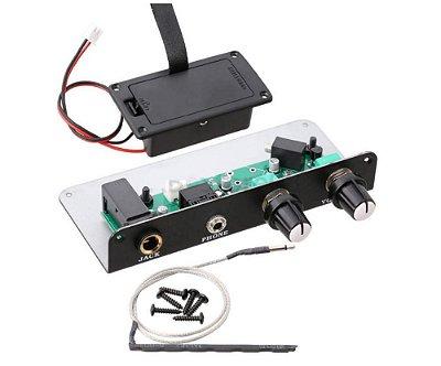 Captador para Violão Vazado c/ Saída para Fones de Ouvido - HS1000