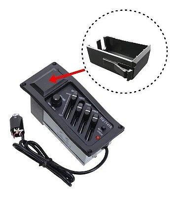Tampa Box Caixa Suporte Bateria 9V Premp EQ7545R e EQ7545