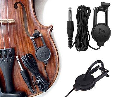Captador de Contato Especial p/ Violino, Celo e Viola
