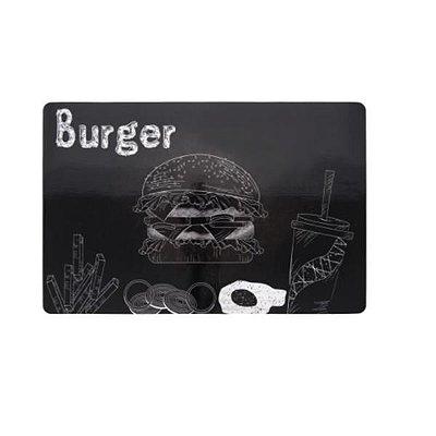 Lugar Americano Print Burger Avulso - Copa & Cia