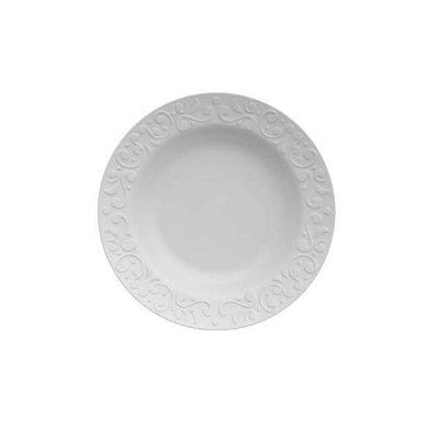 Prato Fundo Tassel Branco