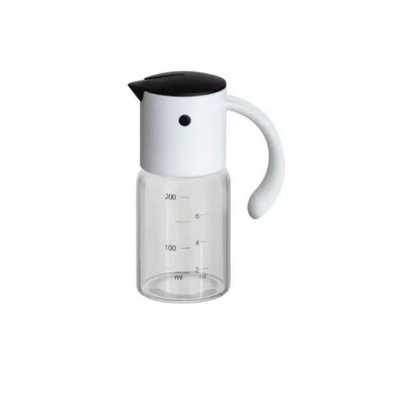 Porta Azeite/Vinagre Gravity Branco Fosco