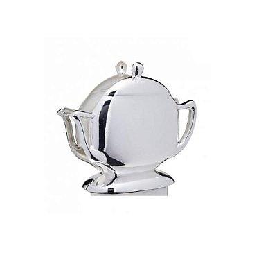 Porta Guardanapos de Zamac Niquelado Teapot