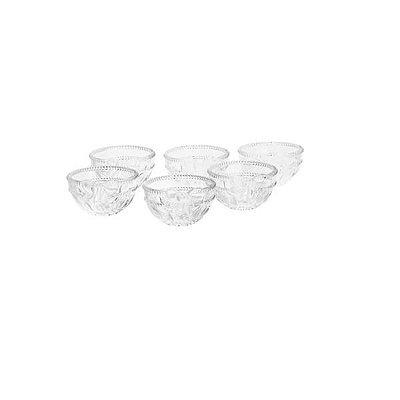 Conjunto com 6 Bowls de Cristal Royal