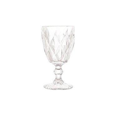 Taca Para Agua Diamond Transparente 260 ML