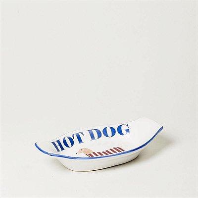 Travessa Barquinha Individual Hot Dog