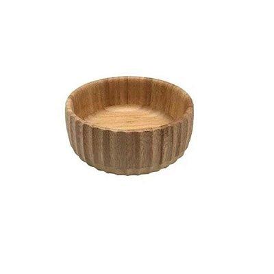 Bowl Canelado de Bambu 15CM
