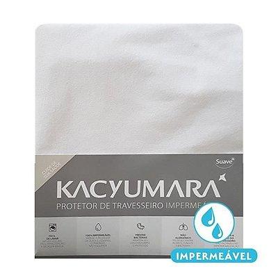 Protetor de travesseiro com malha 100% impermeável - Kacyumara