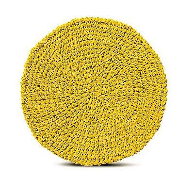 Lugar americano papier amarelo