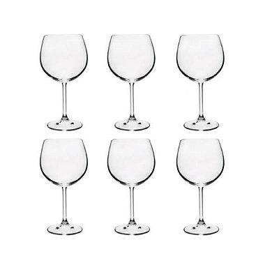 Conjunto com 6 Taças para Gin em Cristal Gastro Colibri 570ml - Wolff