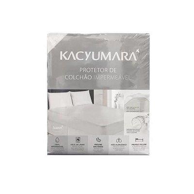 Protetor de Colchão Impermeável Queen 1,60m x 2,00m x 40cm - Kacyumara