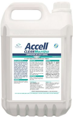 Accell® Clean Multiuso Perfumado - 5 Litros