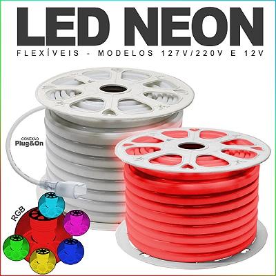 Led Neon Mangueias