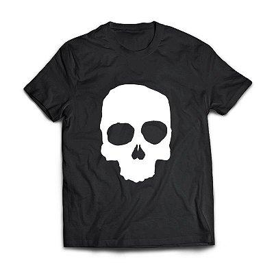 Camiseta Preta Caveira - Guitera Brewers