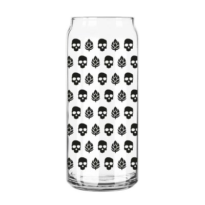Copo Lata Caveira e Lúpulo Preto - 473 ml - Guitera Brewers